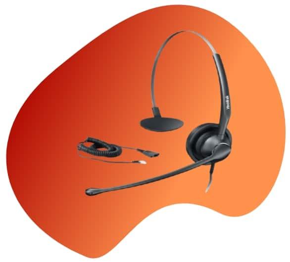 auricular Yealink YHS33 telefonia voip virtualtwin