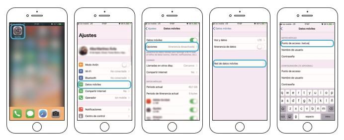 configuración manual de APN telefonía móvil virtualtwin comunicaciones